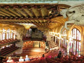 カタルーニャ音楽堂の写真・画像素材[1633496]