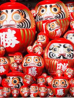 勝尾寺のダルマの写真・画像素材[1791428]