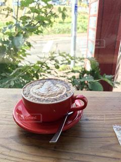 ニセコのカフェで。の写真・画像素材[1347463]