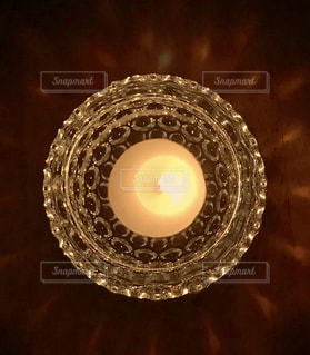 キャンドルの光の写真・画像素材[1441961]