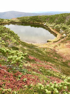 旭岳 すり鉢池の写真・画像素材[1496677]