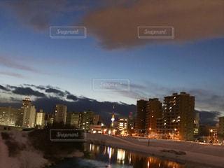 街の夜景の写真・画像素材[1725425]