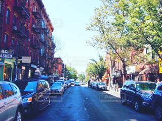 ニューヨーク ウィリアムズバーグのメイン通りの写真・画像素材[1305436]
