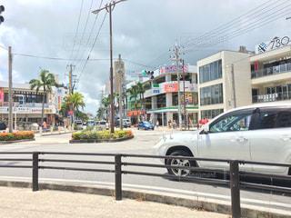 沖縄県石垣市の730交差点の写真・画像素材[1305677]