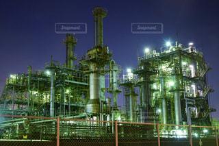 工場夜景の写真・画像素材[1306103]