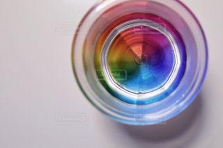 虹のコップの写真・画像素材[1386456]