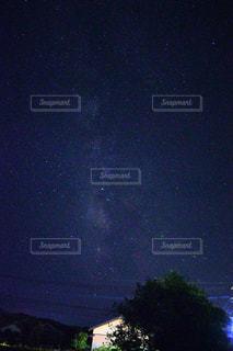 天の川の写真・画像素材[1369281]