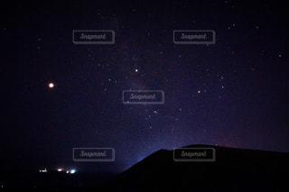 夜空の星の写真・画像素材[1372312]