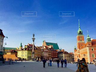 ワルシャワ旧市街の写真・画像素材[1309167]