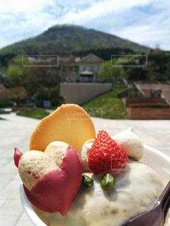 食品のプレートの写真・画像素材[1307366]
