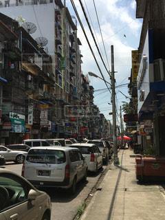 ミャンマーの街並みの写真・画像素材[1310902]
