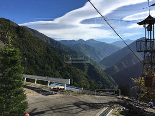 下栗の里から見た山々の写真・画像素材[1307553]
