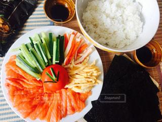 手巻き寿司パーティの写真・画像素材[1322463]