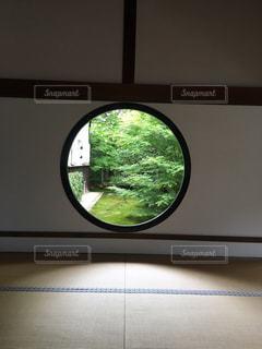 鏡のビューの写真・画像素材[1308694]