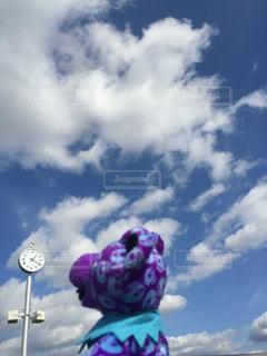 空には雲のグループの写真・画像素材[1309812]