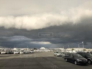 凄い雨雲の写真・画像素材[2609930]
