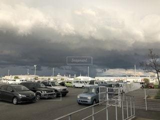 ゲリラ豪雨間近の写真・画像素材[2620663]