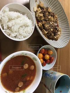 麻婆豆腐献立の写真・画像素材[1310147]