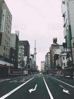 街の通りの写真・画像素材[1311620]