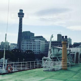 水体の大型船の写真・画像素材[1313736]