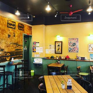 大人っぽくお洒落なカフェの写真・画像素材[1321383]