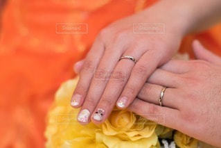 指輪の写真・画像素材[43553]