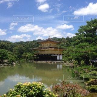 金閣寺の写真・画像素材[40264]