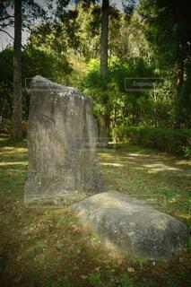 巨大な石の写真・画像素材[4307683]
