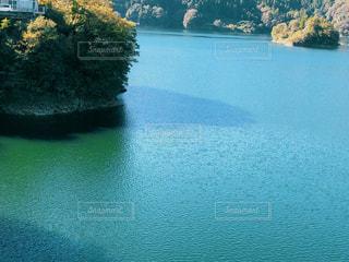 ダム湖の写真・画像素材[1575158]