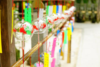 如意輪寺の風鈴の写真・画像素材[1316273]