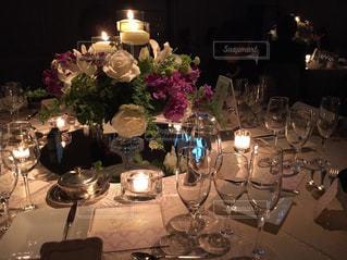 結婚式テーブルの写真・画像素材[1314851]