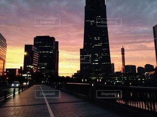 夕暮れの写真・画像素材[40654]