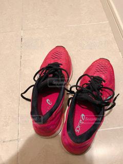 赤い靴の写真・画像素材[1321124]