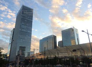 都市の高層ビルの写真・画像素材[1394381]