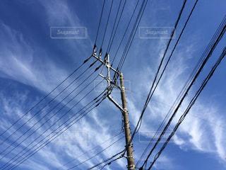 空には雲のグループの写真・画像素材[1397606]