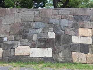 石の壁の写真・画像素材[1408562]