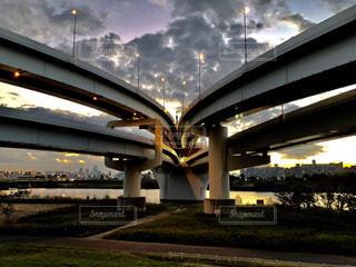 橋のビューの写真・画像素材[1595460]