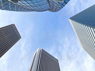 金属タワーと青い空の写真・画像素材[1623250]