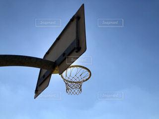 バスケットゴールの写真・画像素材[1647533]