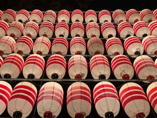 酉の市の奉納提灯の写真・画像素材[1687493]