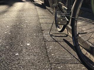 朝  自転車の写真・画像素材[1699520]