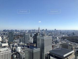 西新宿の街並みの写真・画像素材[1713658]