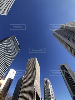 新宿の超高層ビル群の写真・画像素材[1714084]