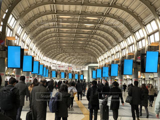 品川駅構内の様子の写真・画像素材[1727807]