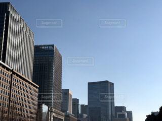 都市の高層ビルの写真・画像素材[1737650]