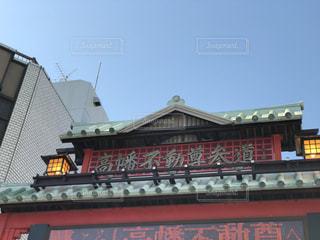 大きな赤いレンガの建物の写真・画像素材[1852093]