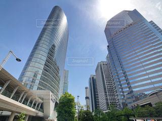 都会の高いビルの写真・画像素材[2119764]