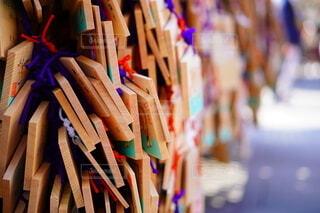 湯島天満宮 絵馬の写真・画像素材[4211263]