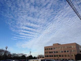 不思議な雲模様の写真・画像素材[1319159]