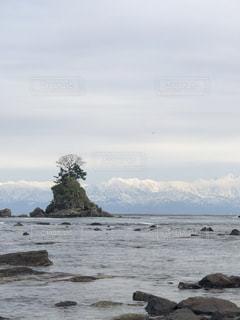 富山湾から見える立山連峰の写真・画像素材[1319210]